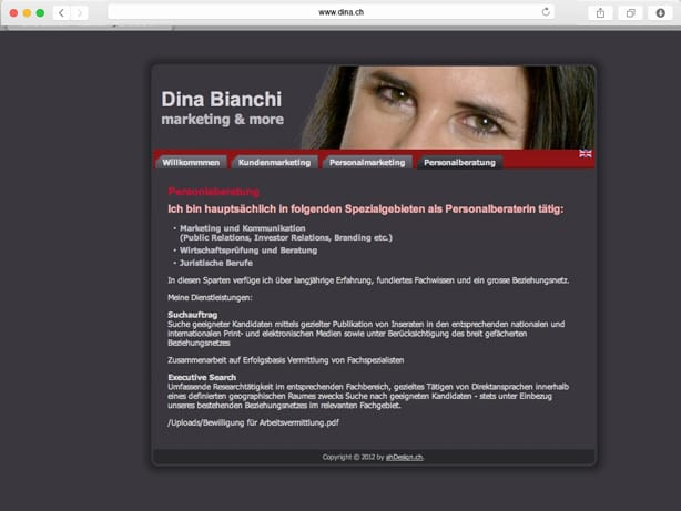 Dina Bianchi marketing & more