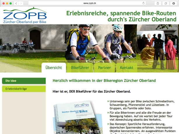Zürcher Oberland per Bike